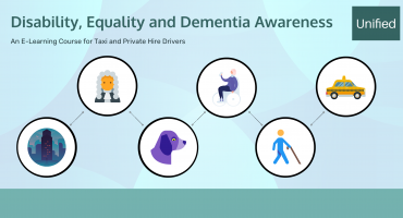 titles image for disbaility awareness course